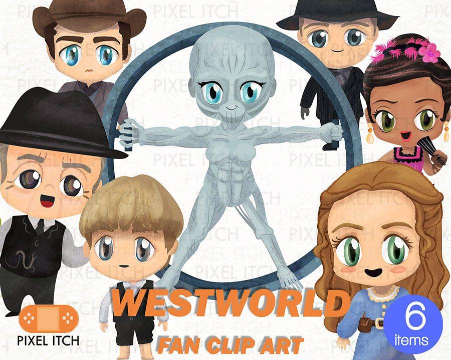 Westworld ClipArt.