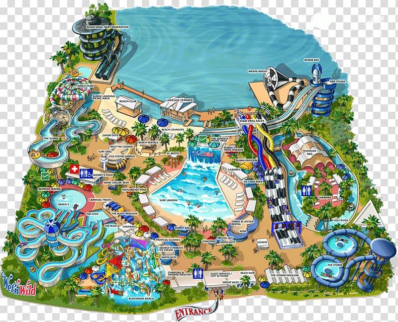 Wet \\\'n Wild Orlando Universal Studios Florida Volcano Bay.