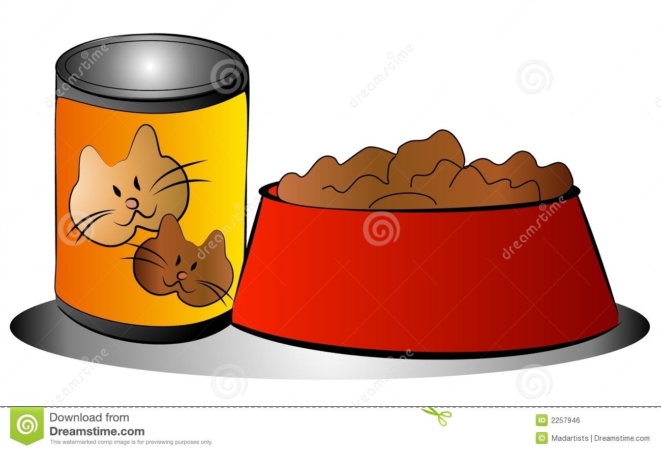 Clipart Cat Food.