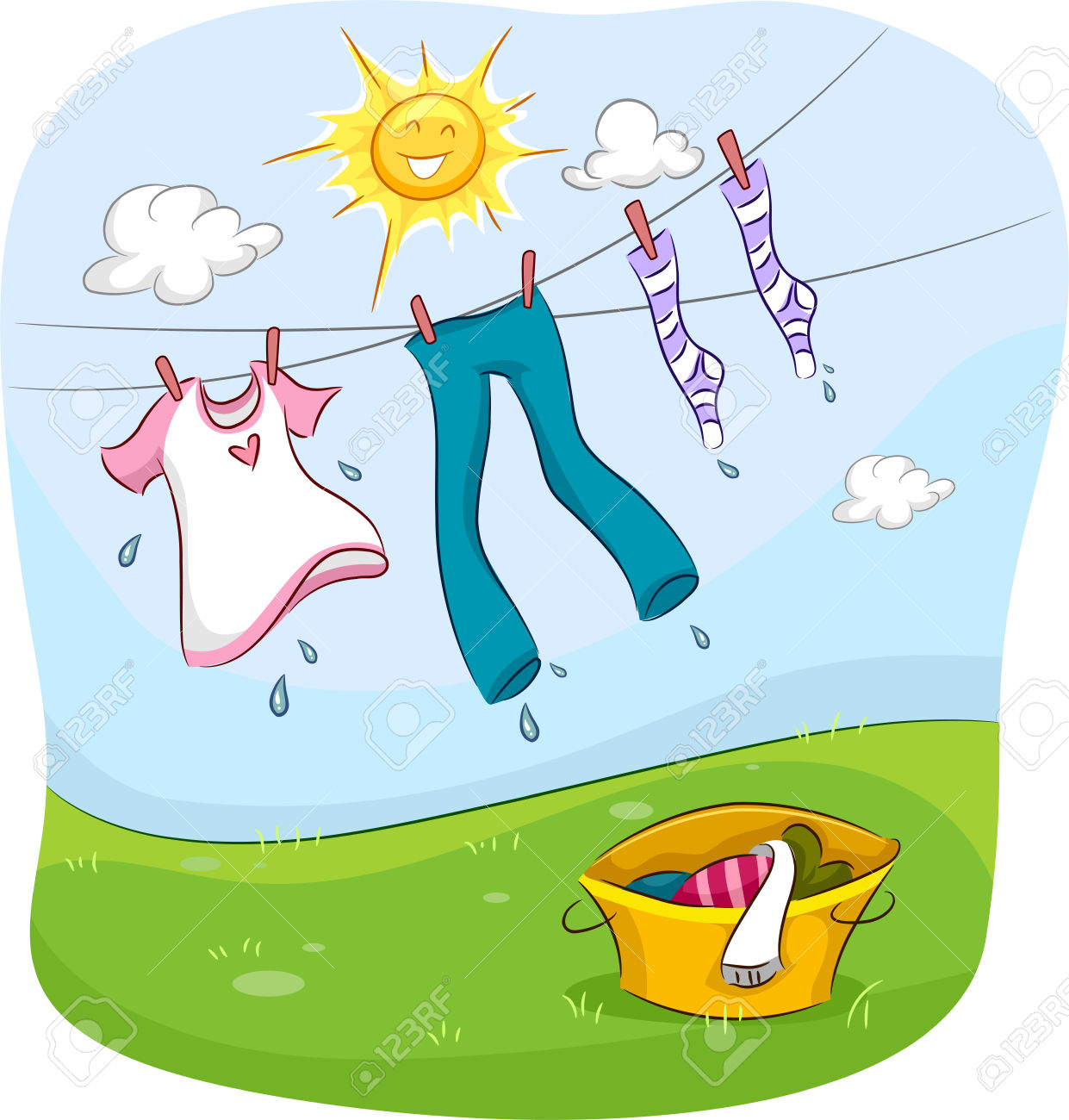 1,636 Wet Clothes Stock Vector Illustration And Royalty Free Wet.