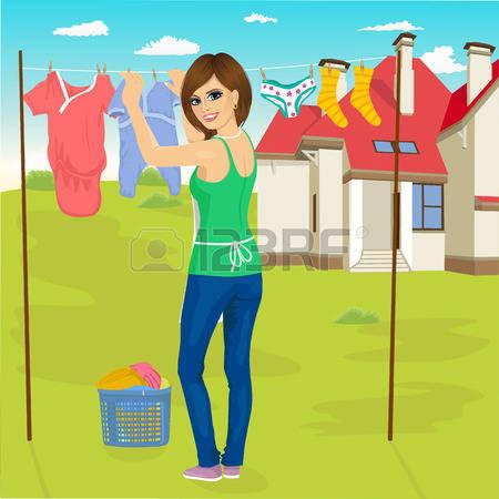 Wet clothes clipart.