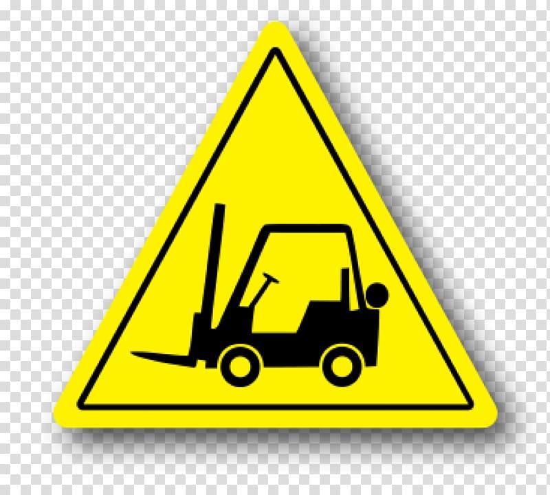 Warning sign Forklift Wet floor sign Safety, safety warning.