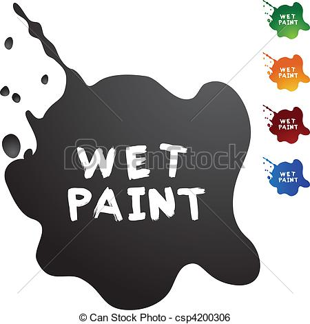 Wet paint Illustrations and Clipart. 19,561 Wet paint royalty free.