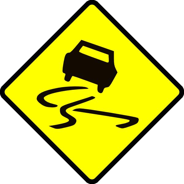 Slippery When Wet Clip Art at Clker.com.
