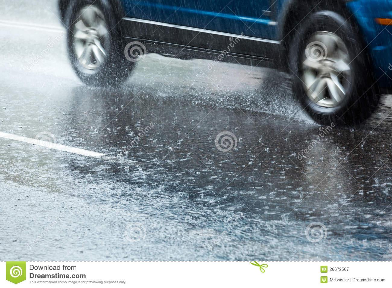 Wet car clipart.