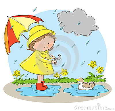Wet Season Clipart on Seasons Worksheet