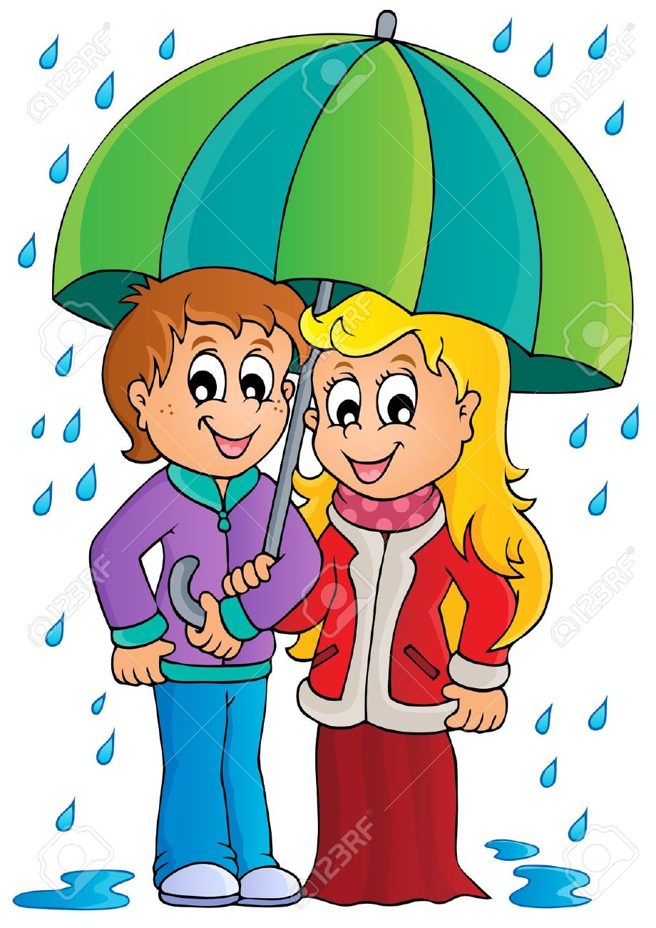 Rainy season live clipart.