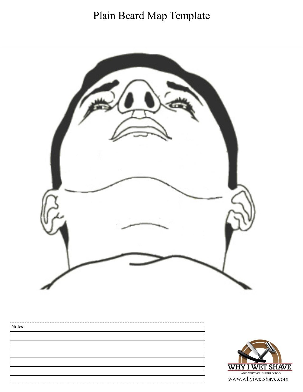 Basics of Shaving: Beard Mapping.