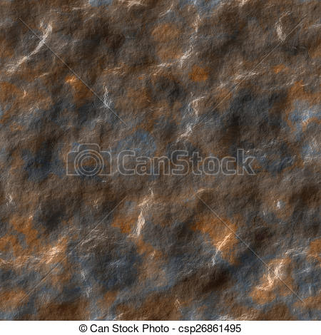 Stock Illustration of Wet stone seamless generated texture.