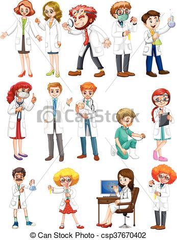 Toga, wit mannelijk, vrouwlijk, wetenschappers. Toga.