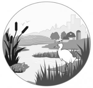 Wetlands clipart.