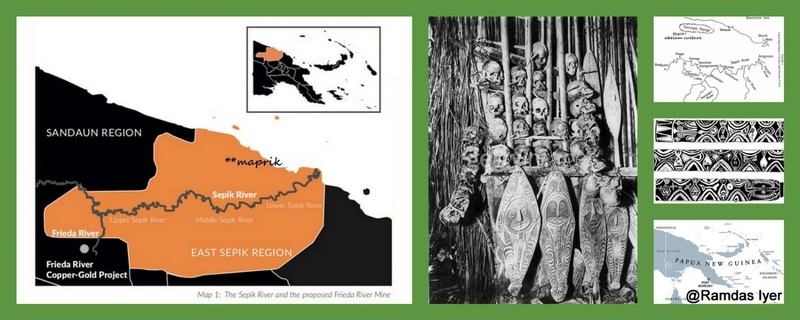 Abelam People of the Sepik River.