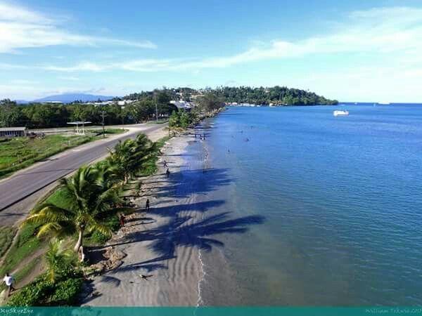 Wewak town, East Sepik Province. Papua New Guinea.