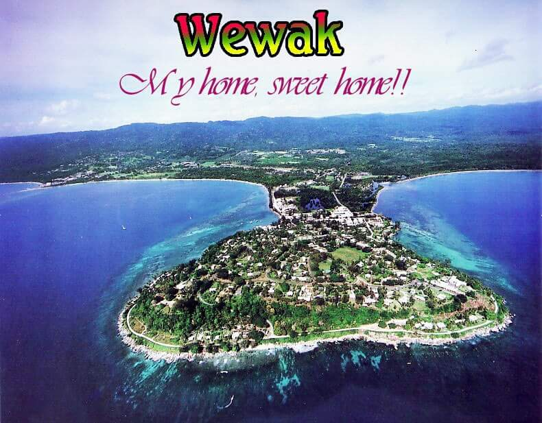 WEWAK TOWN, EAST SEPIK PROVINCE, PAPUA NEW GUINEA..