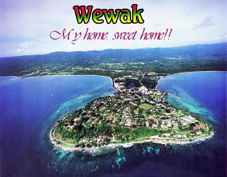 WEWAK TOWN, EAST SEPIK PROVINCE, PAPUA NEW GUINEA..