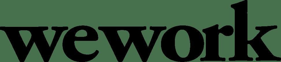 WeWork Logo transparent PNG.
