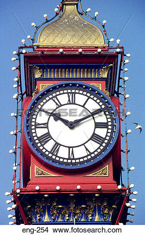 Stock Photo of Weymouth Jubilee Clock Clock.