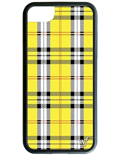 Wildflower Limited Edition iPhone Case for iPhone 6, 7, or 8 (Yellow Tartan).