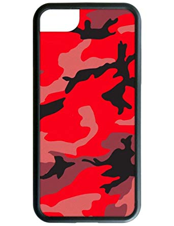 Wildflower Limited Edition iPhone Case for iPhone 6, 7, or 8 (Red Camo).