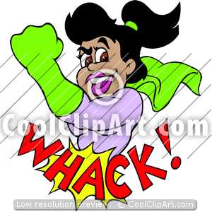 Whack 20clipart.