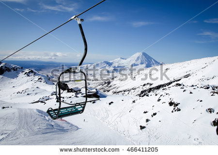 Mt Ruapehu Stock Photos, Royalty.