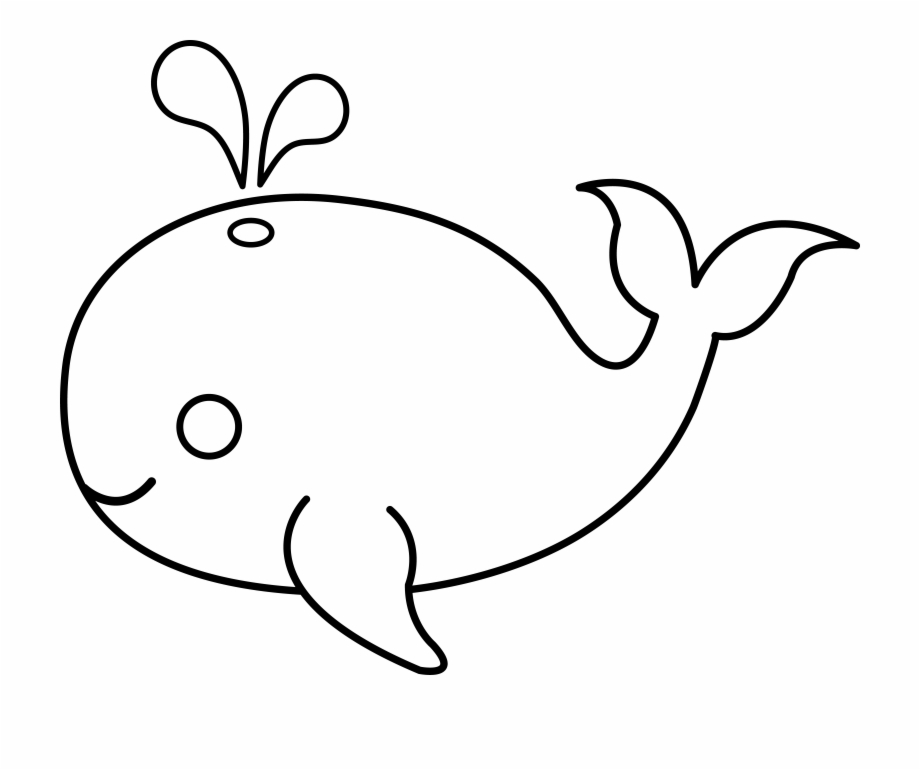 Free Whale Cartoon Black And White, Download Free Clip Art.