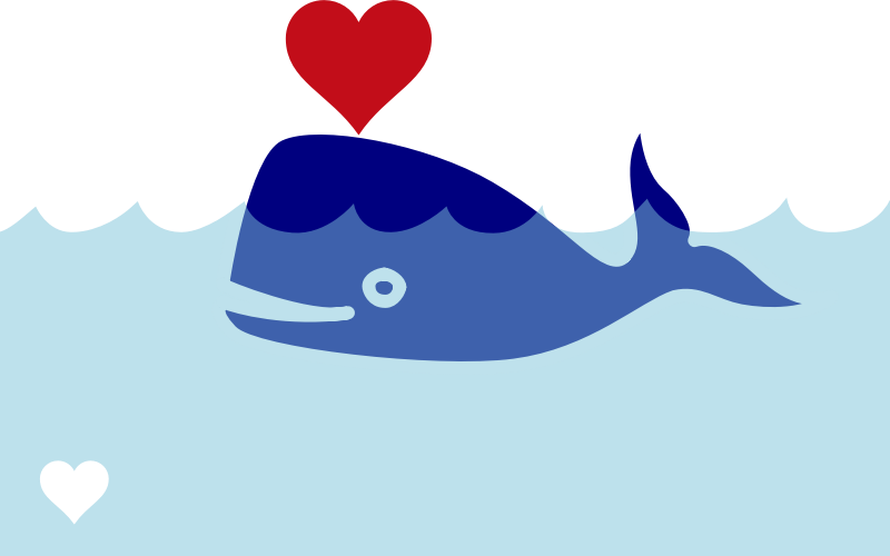 Free to Use & Public Domain Whale Clip Art.