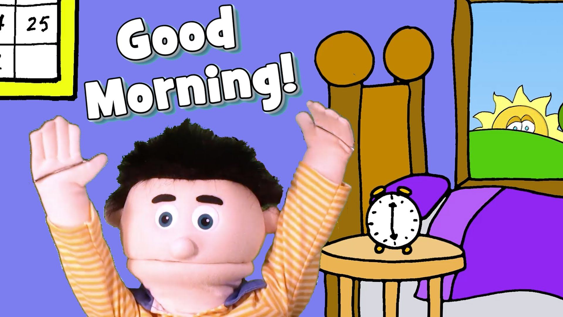 A fun and energetic good morning song with actions to start.
