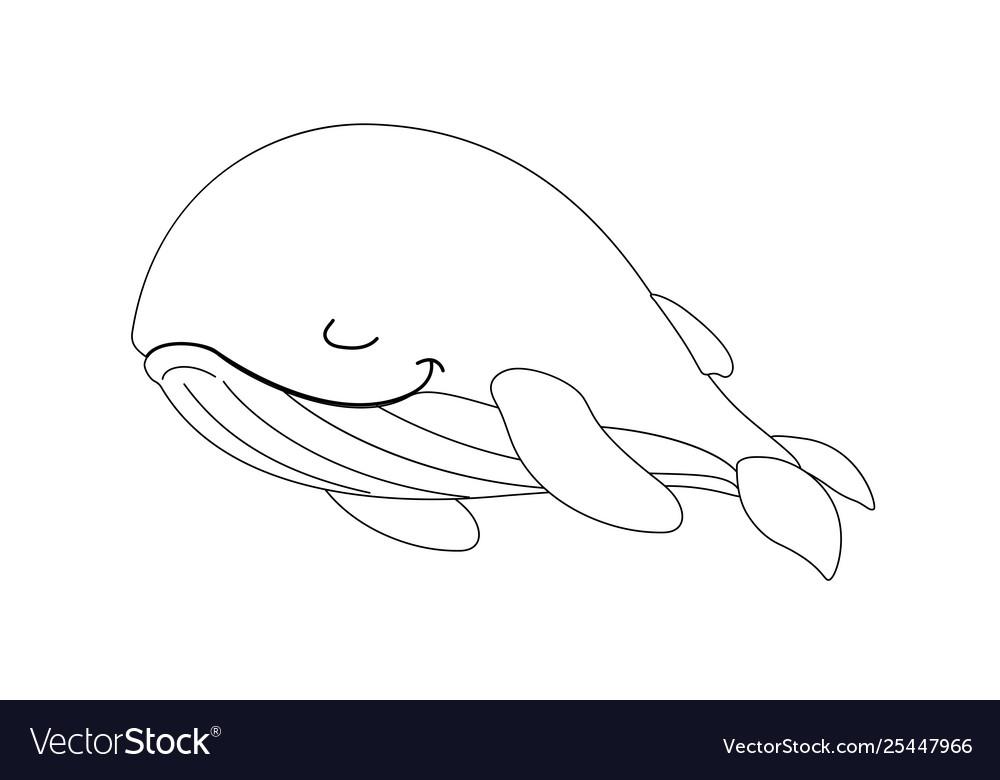 Line cartoon animal clip art.