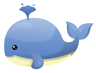 Download WHALE Free PNG transparent image and clipart.