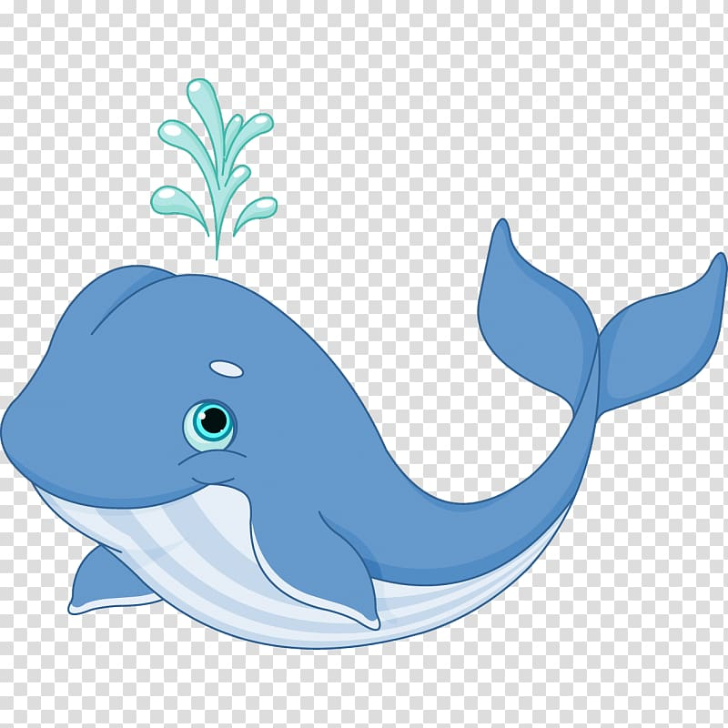 Whale Cartoon, whale transparent background PNG clipart.