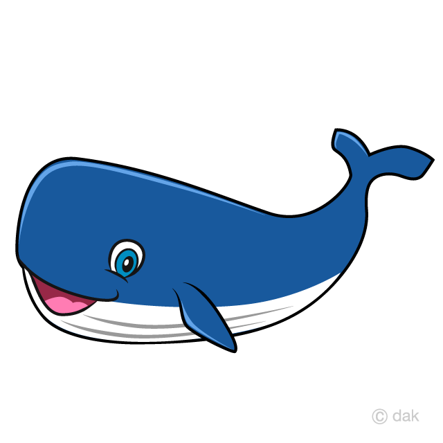 Free Whale Cartoon Image|Illustoon.