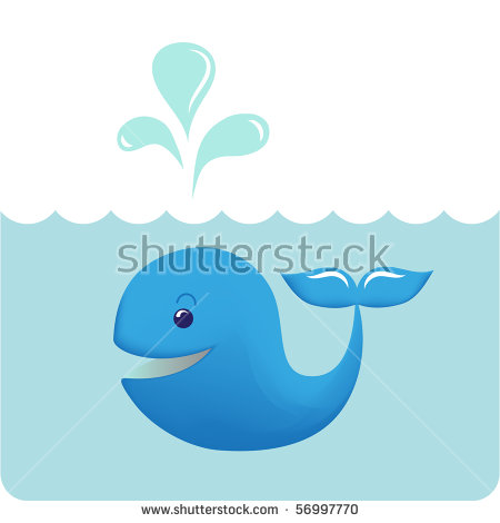 Baby Whale Stock Photos, Royalty.