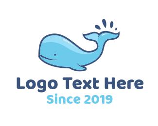 Blue Whale Logo.