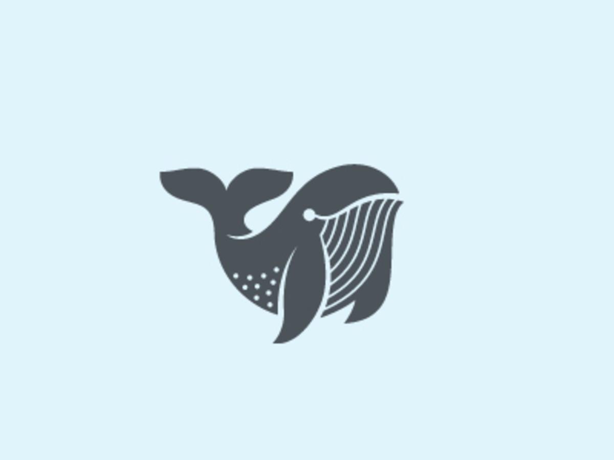 10 Super Cool Whale Logos.