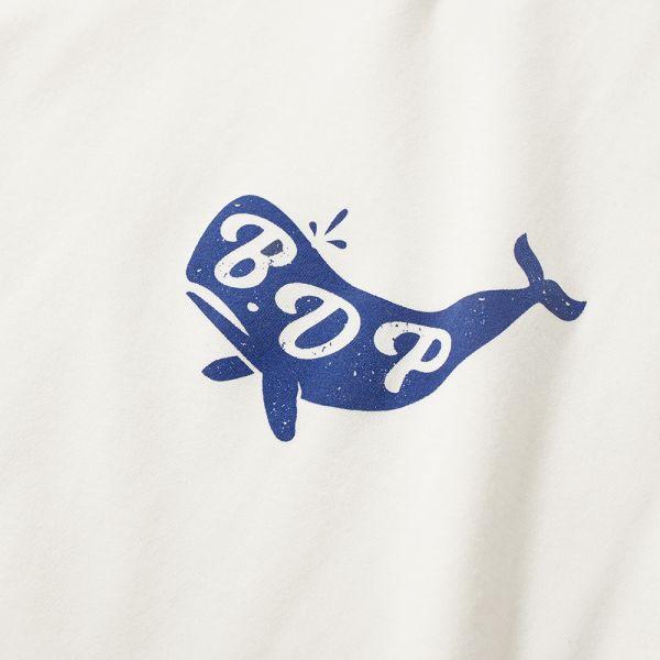 Bleu de Paname Whale Logo Tee.