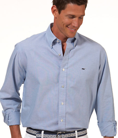 Vineyard Vines Classic Shirts from Dann Clothing.