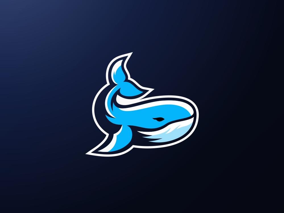 Whale Logo Design by Jenggot Merah on Dribbble.