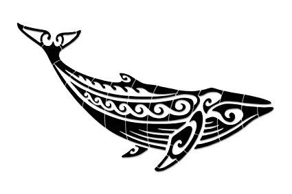 Amazon.com: Tribal Humpback Whale Porcelain Swimming Pool.