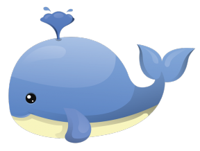Free Dolphin And Whale Graphics Ocean Clipart 2 Image.