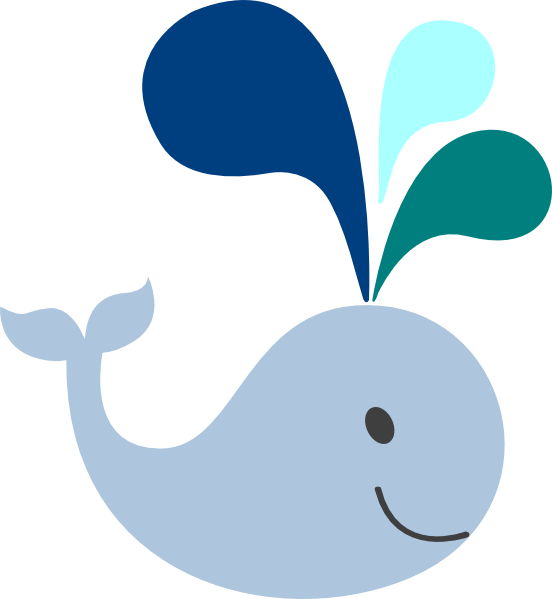 Baby Whale Clip Art.
