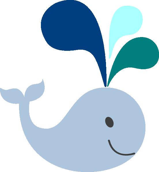 Baby Whale Clip Art.