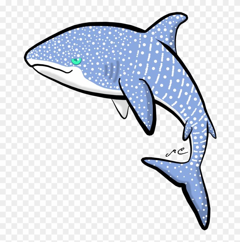 Whale Shark By Mischievouspooka.