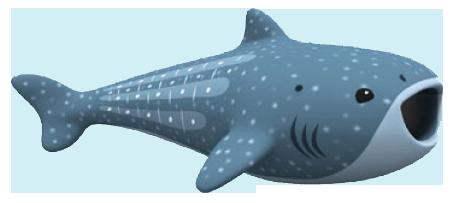 Clipart whale shark.