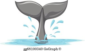 Whale Tail Clip Art.