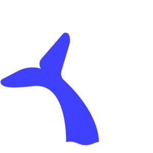 Blue Whale Tail Clip Art at Clker.com.