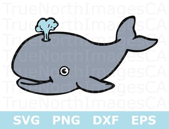Whale SVG File / Whale Clipart / What SVG for Baby / Whalte.