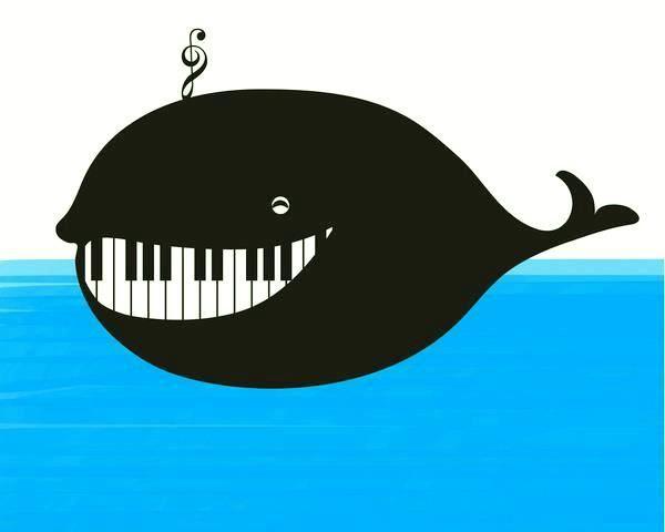 Musical whale.