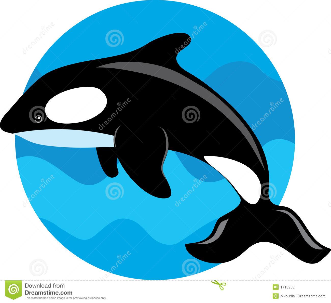 Sperm Whale Clipart.