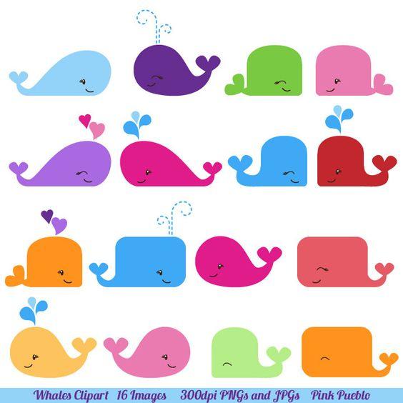 Whale Clipart, Whale Clip Art.